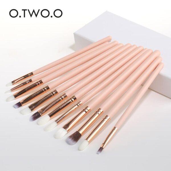o two o 12pcs eye makeup brushes set price
