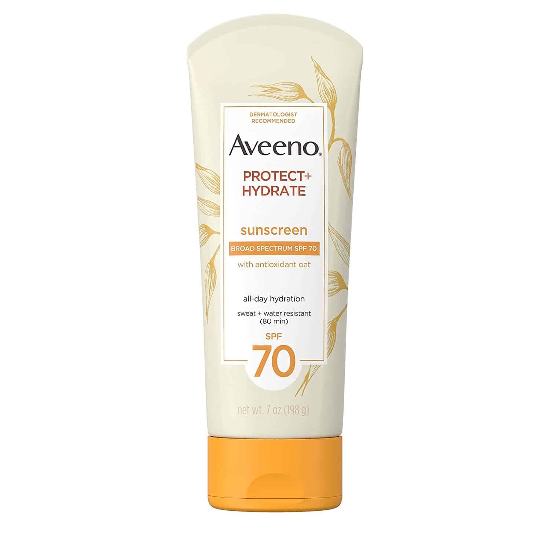 Aveeno Protect + Hydrate Sunscreen sanwarna.pk