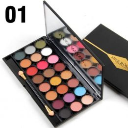 miss rose eyeshadow palette review