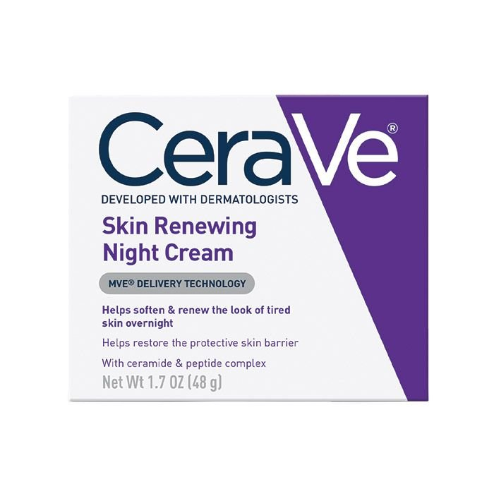 cerave skin renewing night cream review