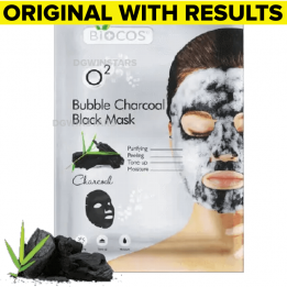 biocos bubble charcoal mask sanwarna.pk
