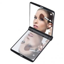 mini 8 led makeup mirror sanwarna.pk