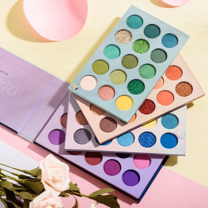 beauty glazed eyeshadow palette review