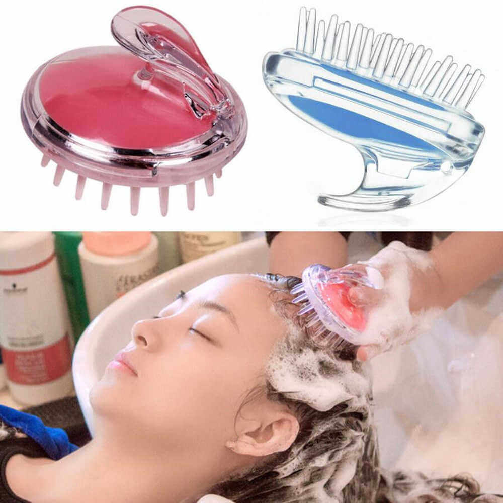 scalp massager head shampoo brush