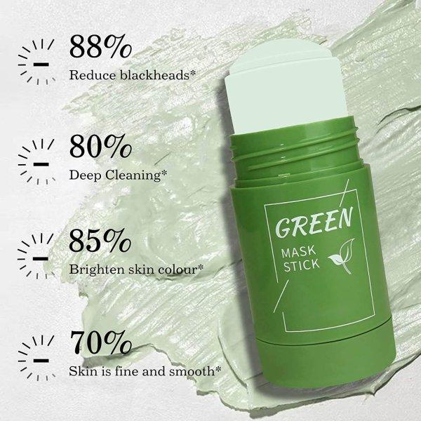 green mask stick at clicks
