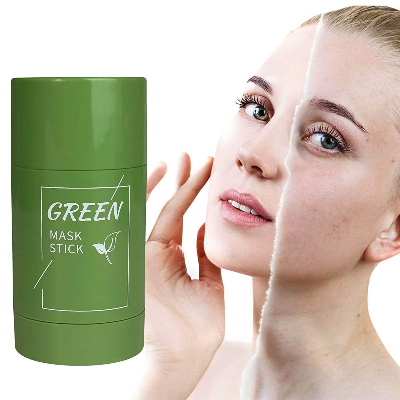 green tea face mask stick sanwarna.pk