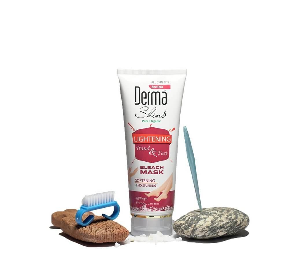 derma shine hand and foot bleach cream review