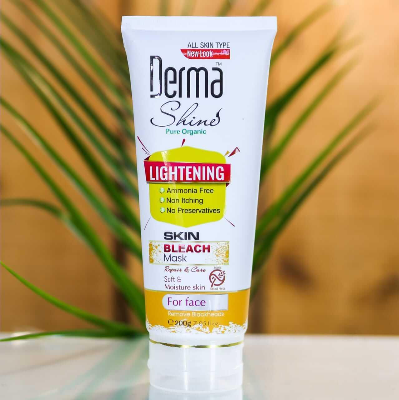derma shine bleach mask price sanwarna.pk