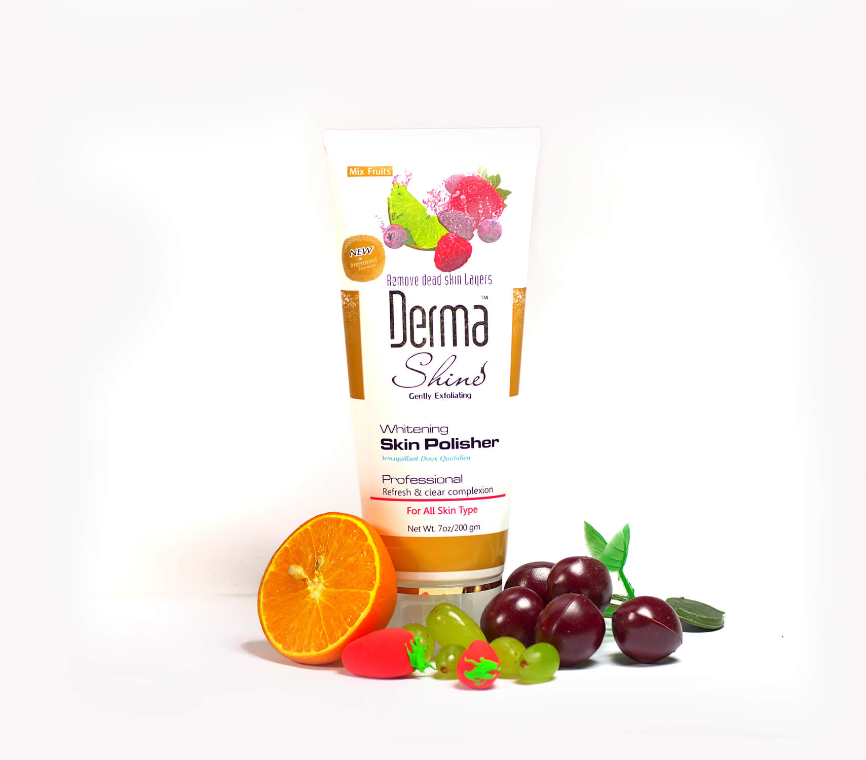 derma shine whitening scrub review sanwarna.pk