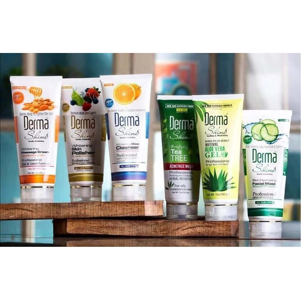 derma shine acne facial kit review sanwarna.pk