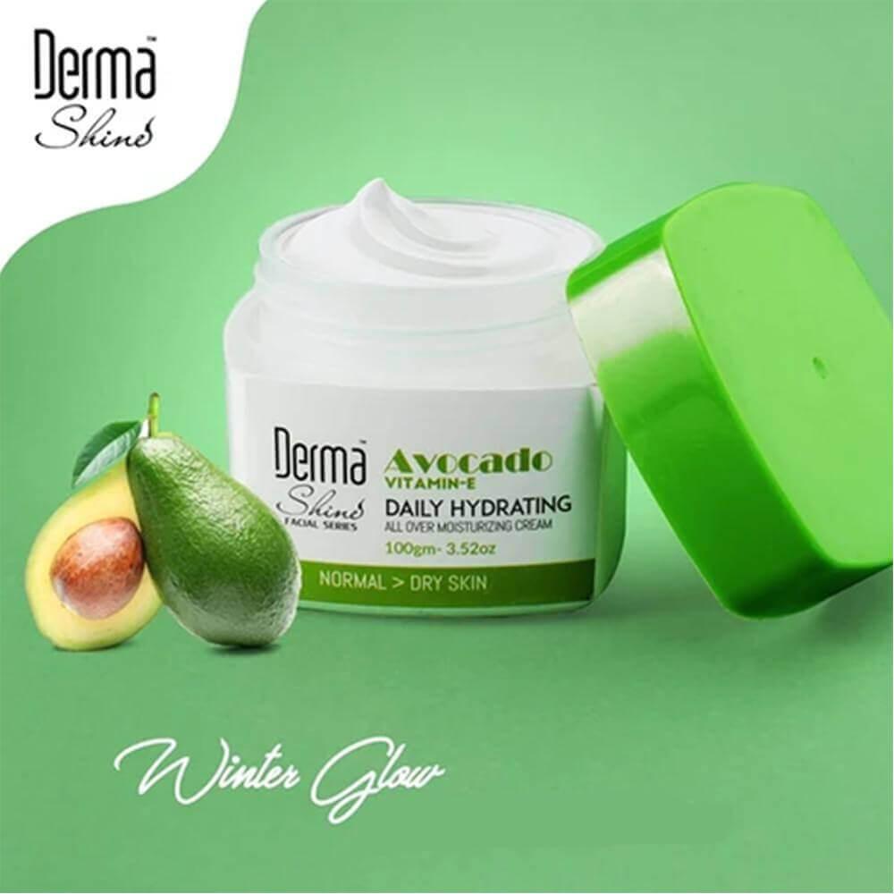 derma shine avocado moisturizing cream review sanwarna.pk