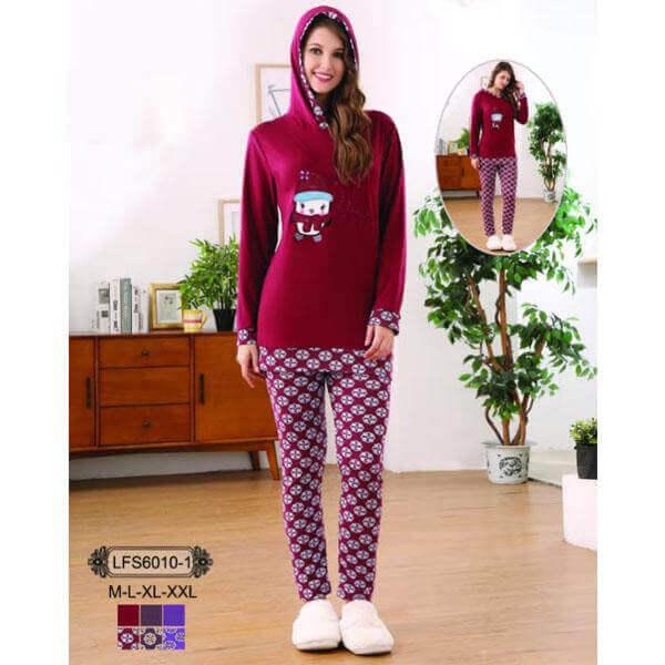 winter sleepwear for ladies
