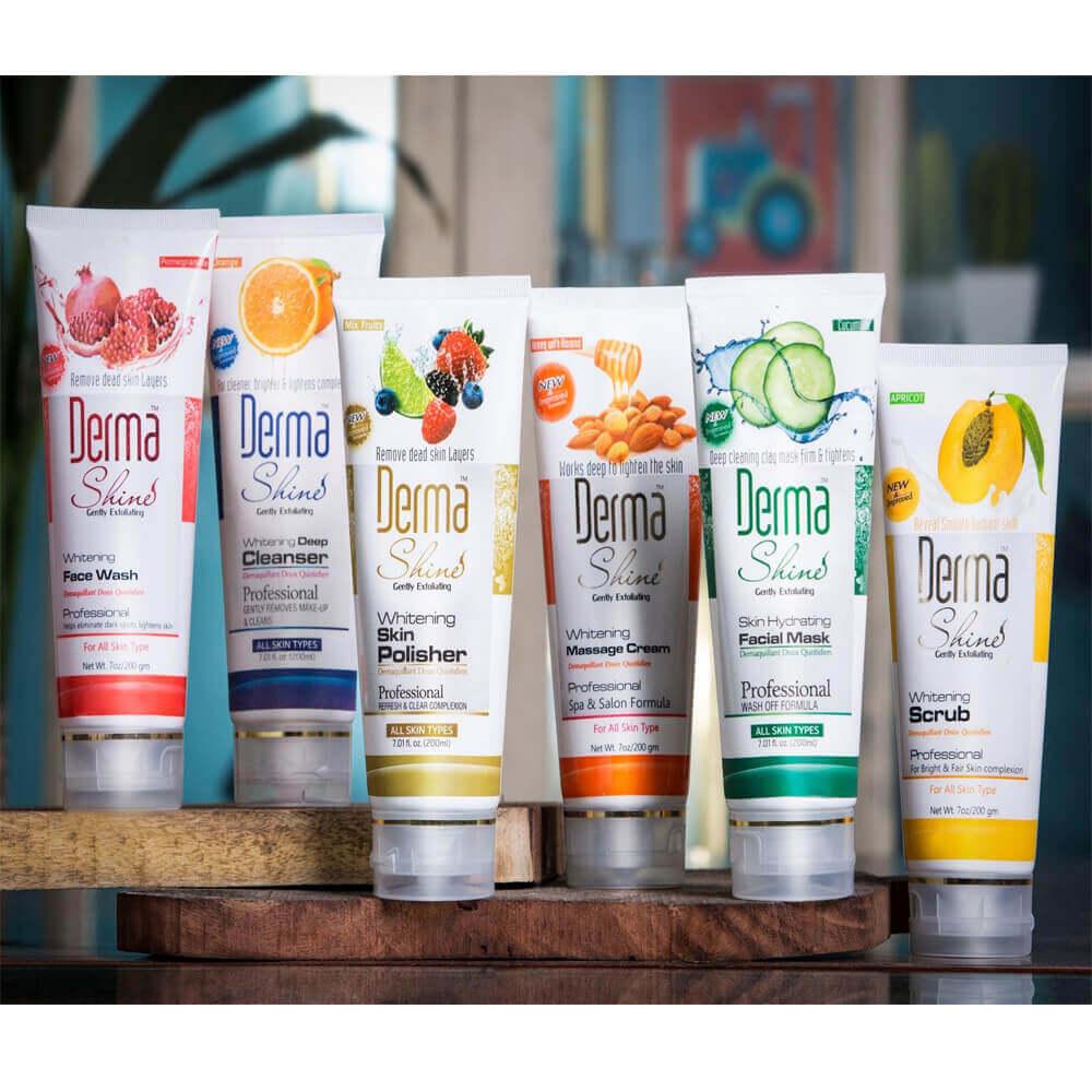 derma shine facial kit review