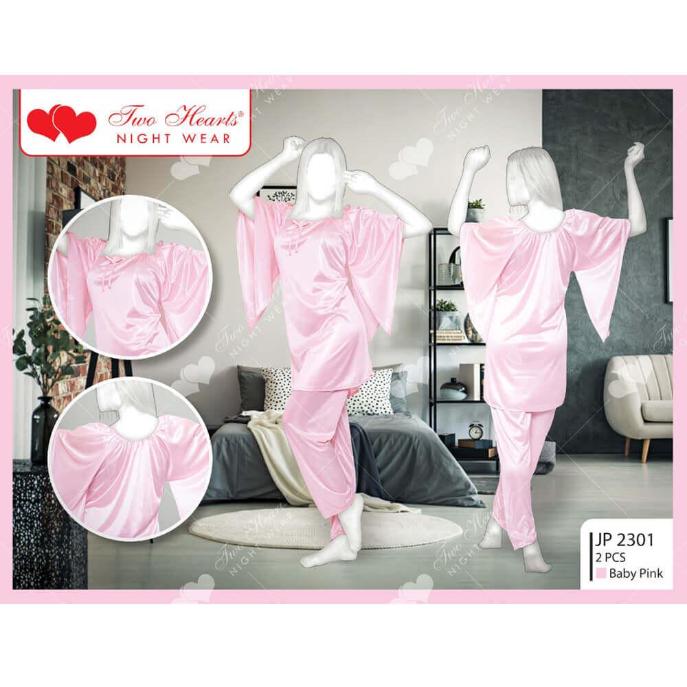 silk ladies bell sleeves price in pakistan SANWARNA.PK