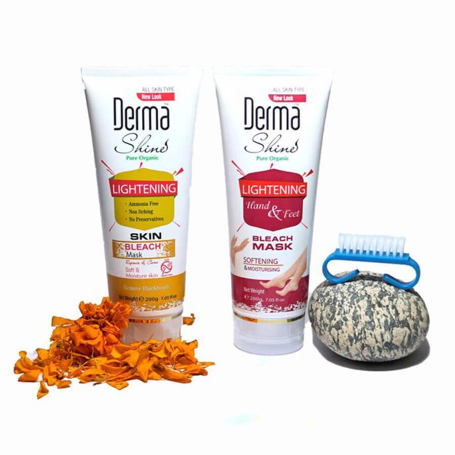 derma shine bleach review sanwarna.pk