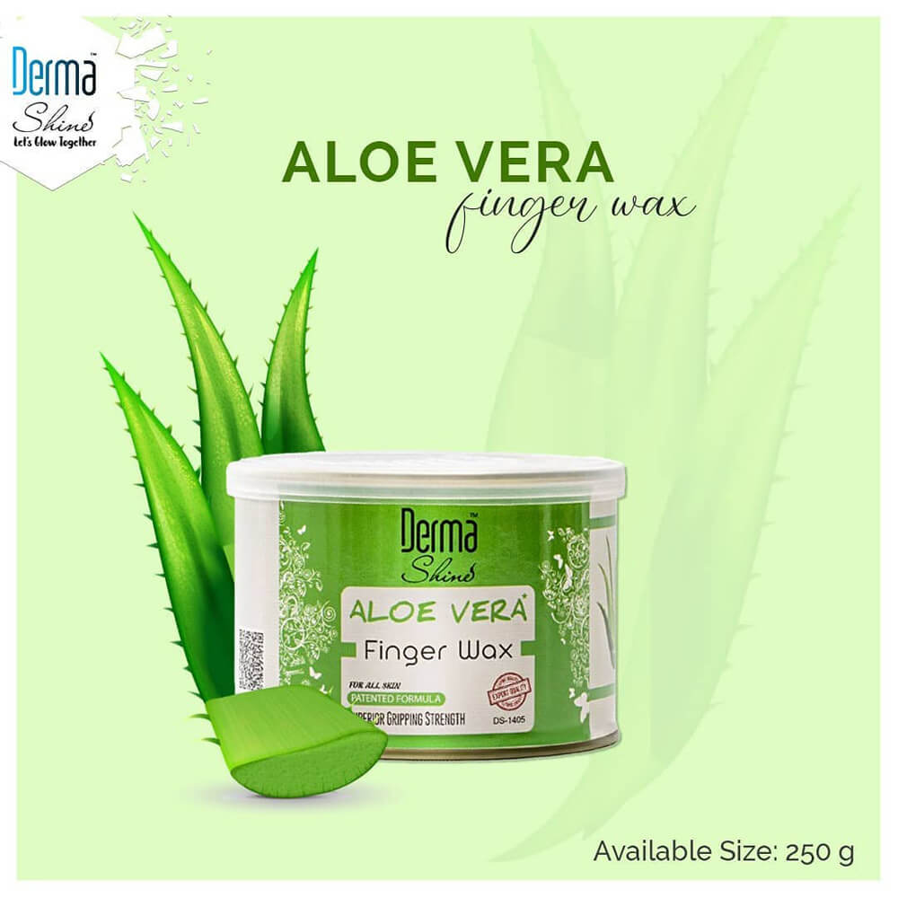 derma shine aloe vera gel wax sanwarna.pk