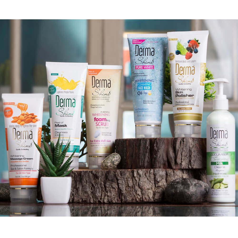 derma shine facial kit review sanwarna.pk