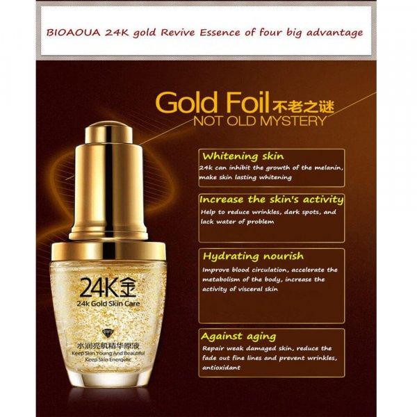 bioaqua 24k gold serum review