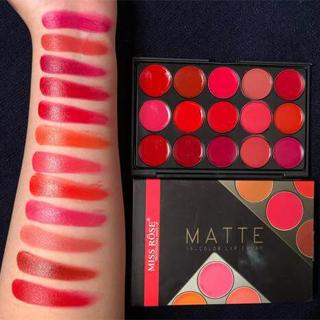 miss rose matte lipstick set sanwarna.pk