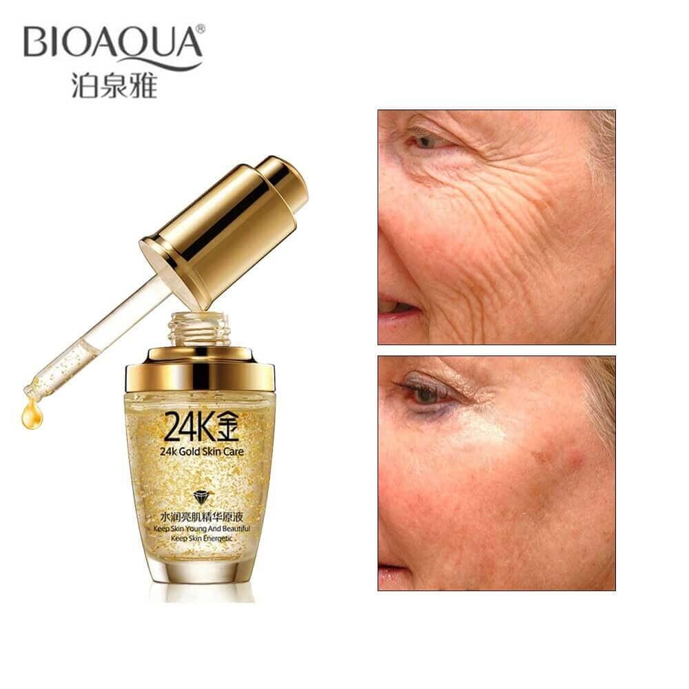 24k gold serum for oily skin