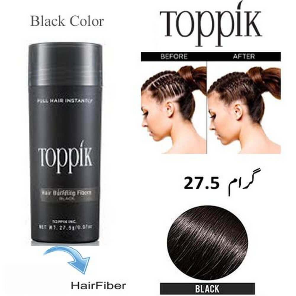 toppik hair building fibers black