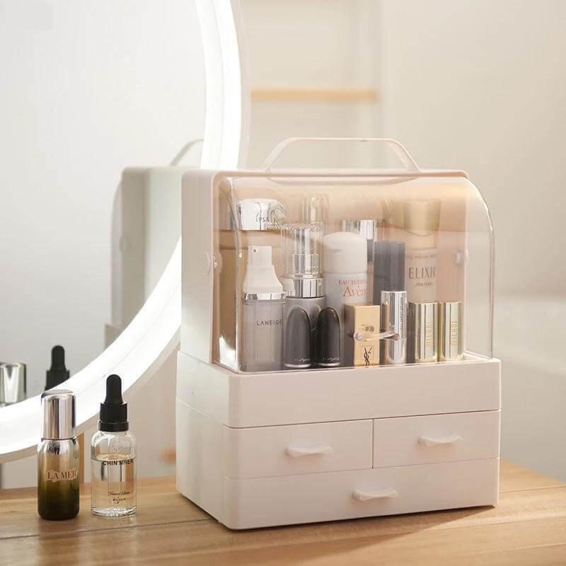 diy cosmetic organizer box